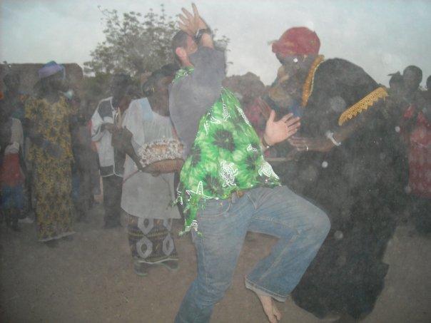 dave dancing in mali