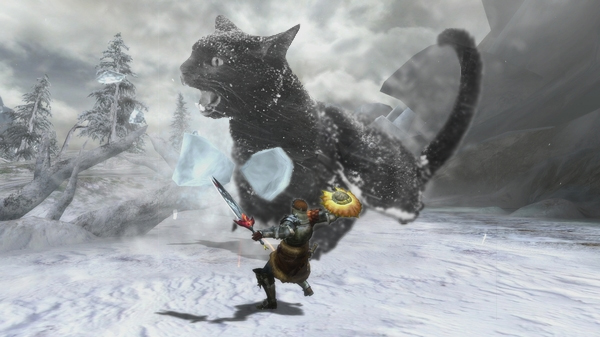 monster hunter cat