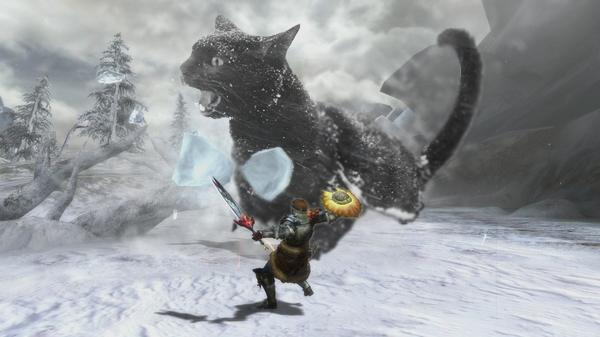 monster hunter cat